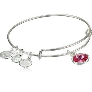 New Alex and Ani June Birthstone Bangle Bracelet